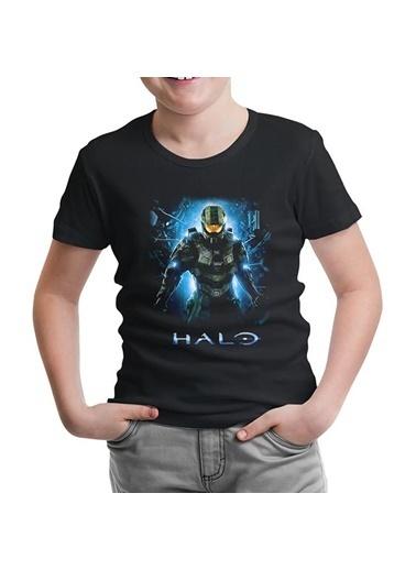 Lord Tshirt Halo - Guardians Siyah Çocuk Tshirt Siyah